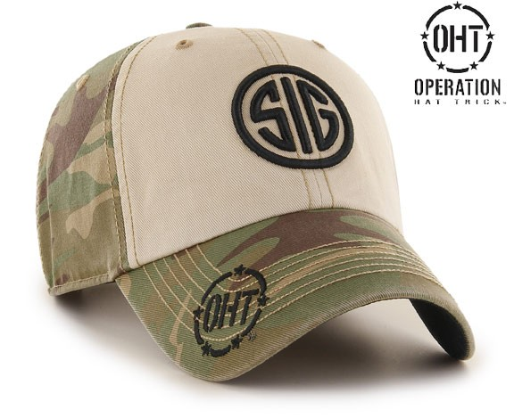In addition to shirts, Sig and OHT also have hats up for grabs. (Photo: Sig Sauer)