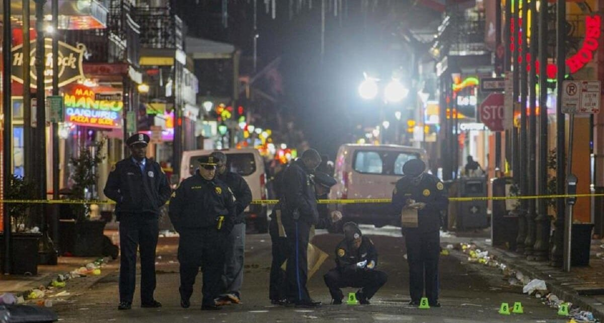 New Orleans saw a bloody first month in 2017, with a total of 75 people shot in January (Photo: Boston Globe)