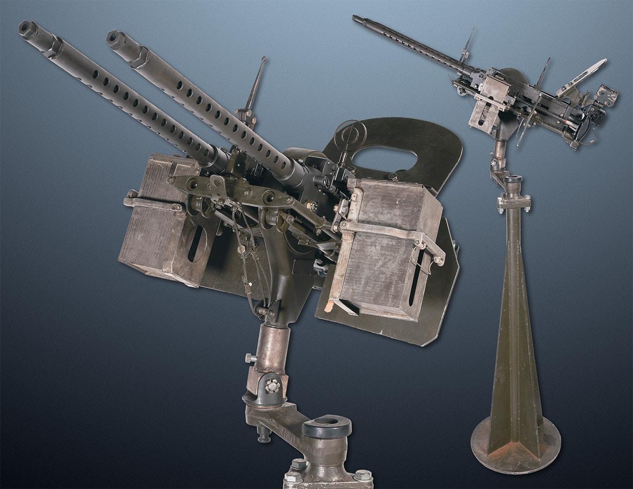 twin aaa mount 30 caliber m1919 ria