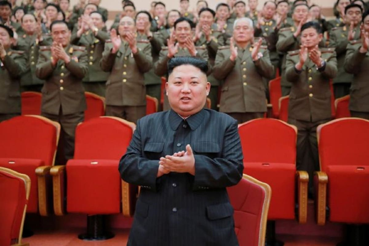 "North Korea reportedly executed five senior security officials with anti-aircraft guns due to making false reports that ""enraged"" leader Kim Jong Un (Photo: Reuters)"