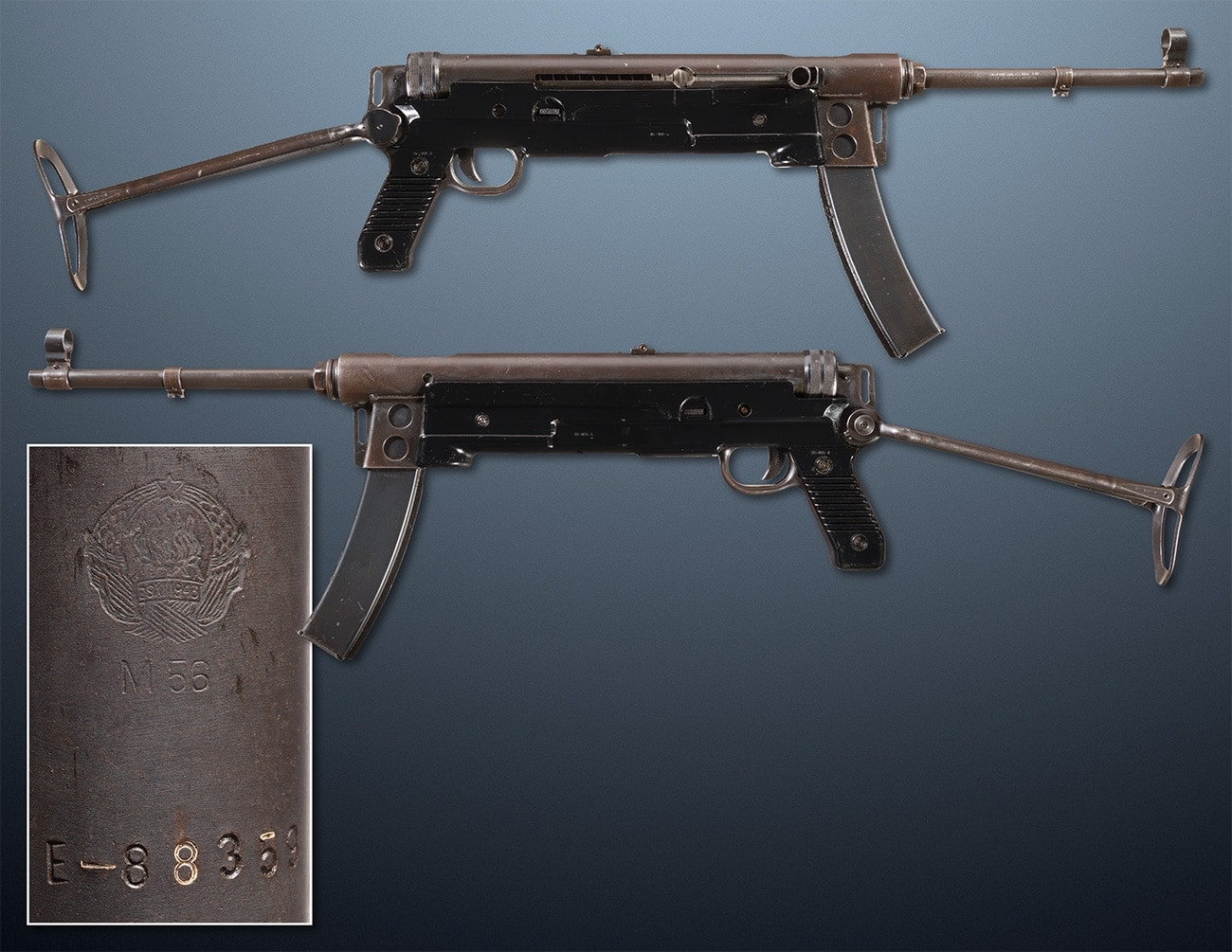 yugoslav M56 Submachine gun ria 7.62x25mm