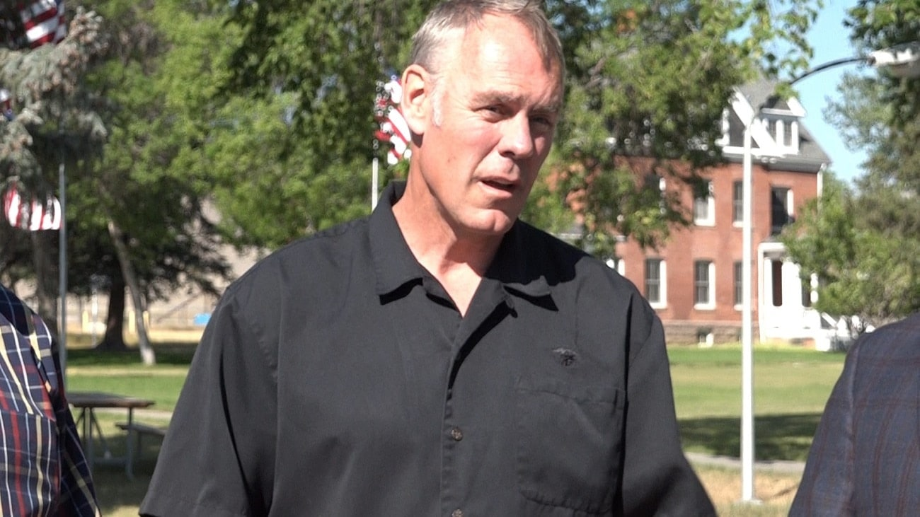 Rep. Ryan Zinke will most likely be confirmed as Secretary of the Interior in March (Photo: KTVQ)