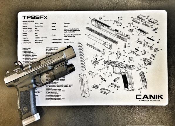 The TP9SFx was designed specifically for competition shooters who don't want to tweak their guns for competition. (Photo: Canik via Facebook)