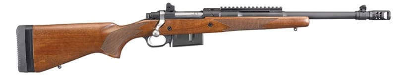 The Gunsite Scout Rifle expansion seeks to pack more punch with the .450 Bushmaster pairing. (Photo: Ruger)