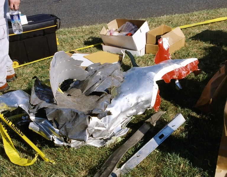 9-11 Pentagon Debris 2