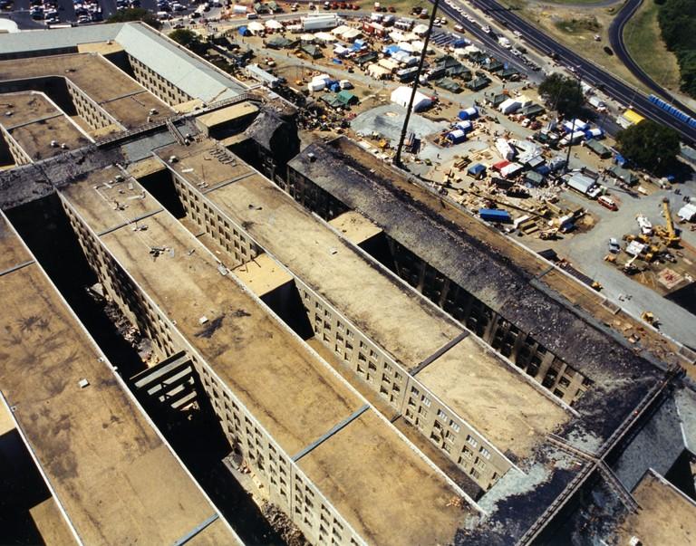 9-11 Pentagon Overhead
