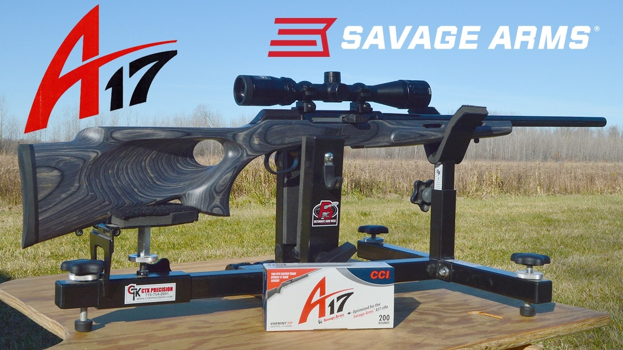Gun Review: Savage A17 Thumbhole Target Combo rifle in  17 HMR (VIDEO)