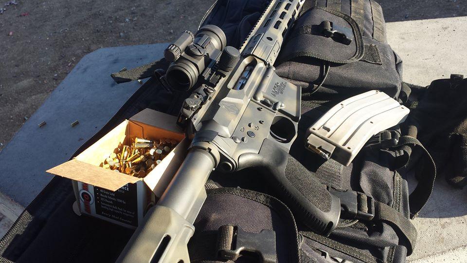 A .22 conversion kit on the AR platform. (Photo: Alex Vogel via Facebook)