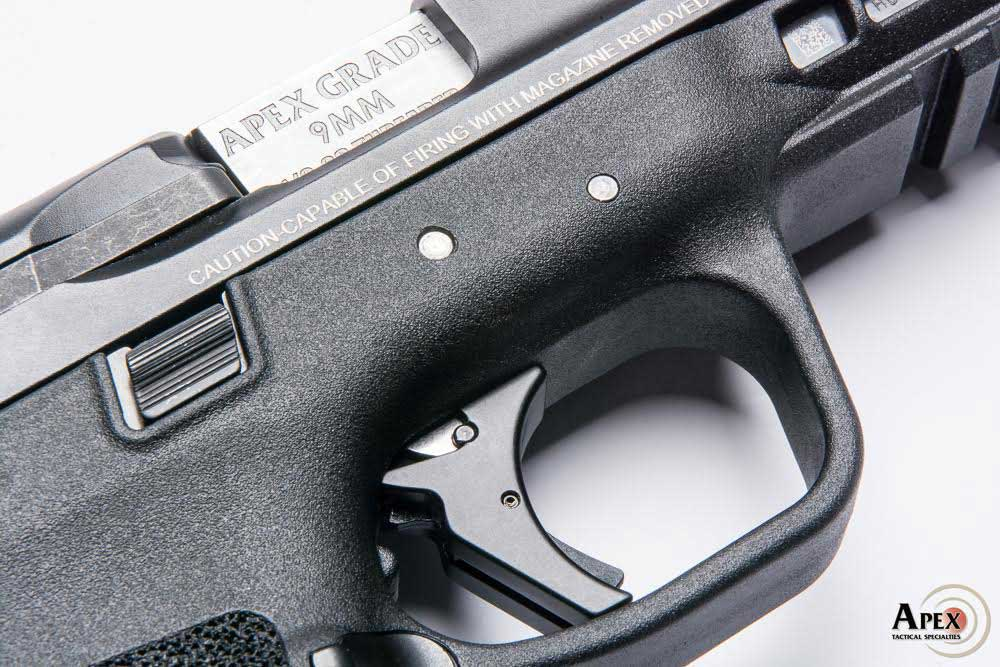 Apex expands its drop-in trigger kit offerings to include Smith & Wesson's newest model gun the M2.0. (Photo: Apex Tactical Specialities)