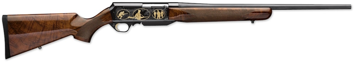 The Browning BAR Safari Anniversary model celebrates 100 years of service for the iconic rifle. (Photo: Browning)