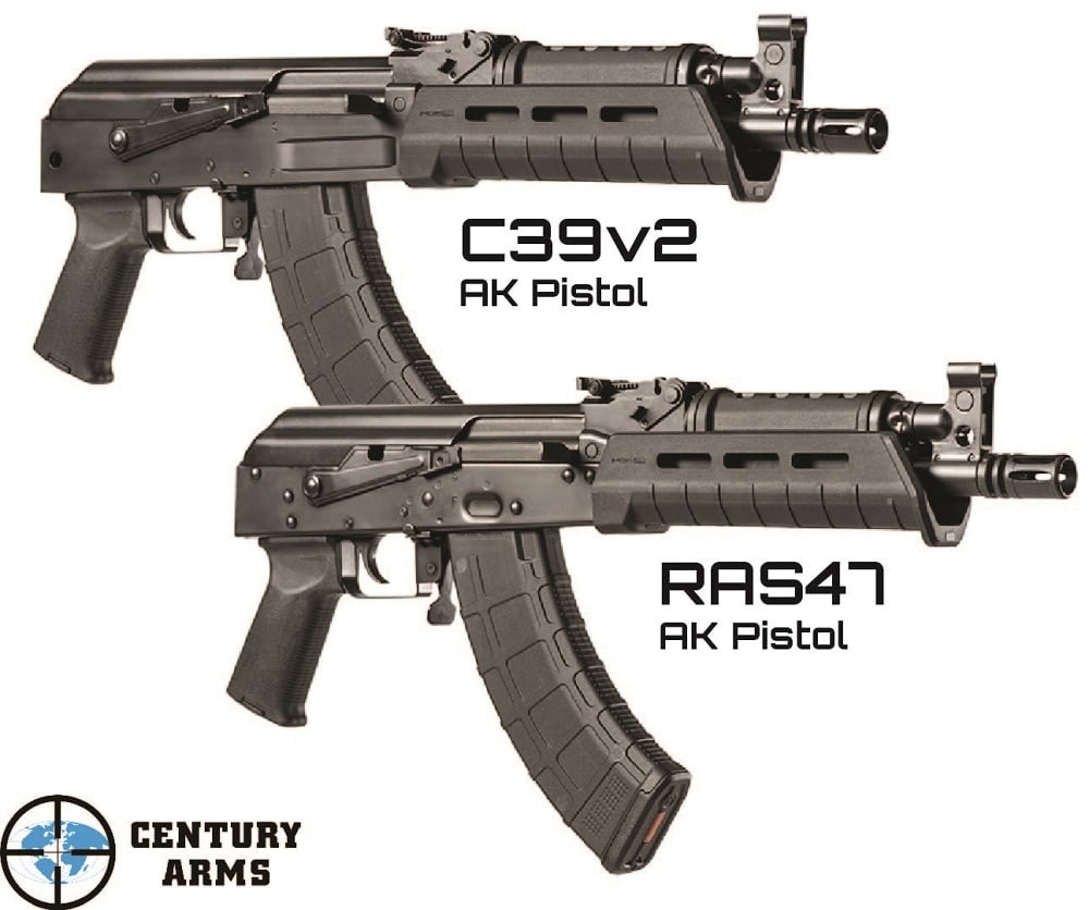Both pistol variants were introduced in Century's 2017 catalog and are now shipping. (Photos: Century)