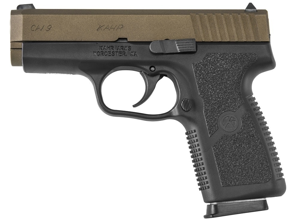 The CW9093BB incorporates a Cerakote Burnt Bronze finish which the company advises is very popular in both the Kahr and Magnum Research product lines.