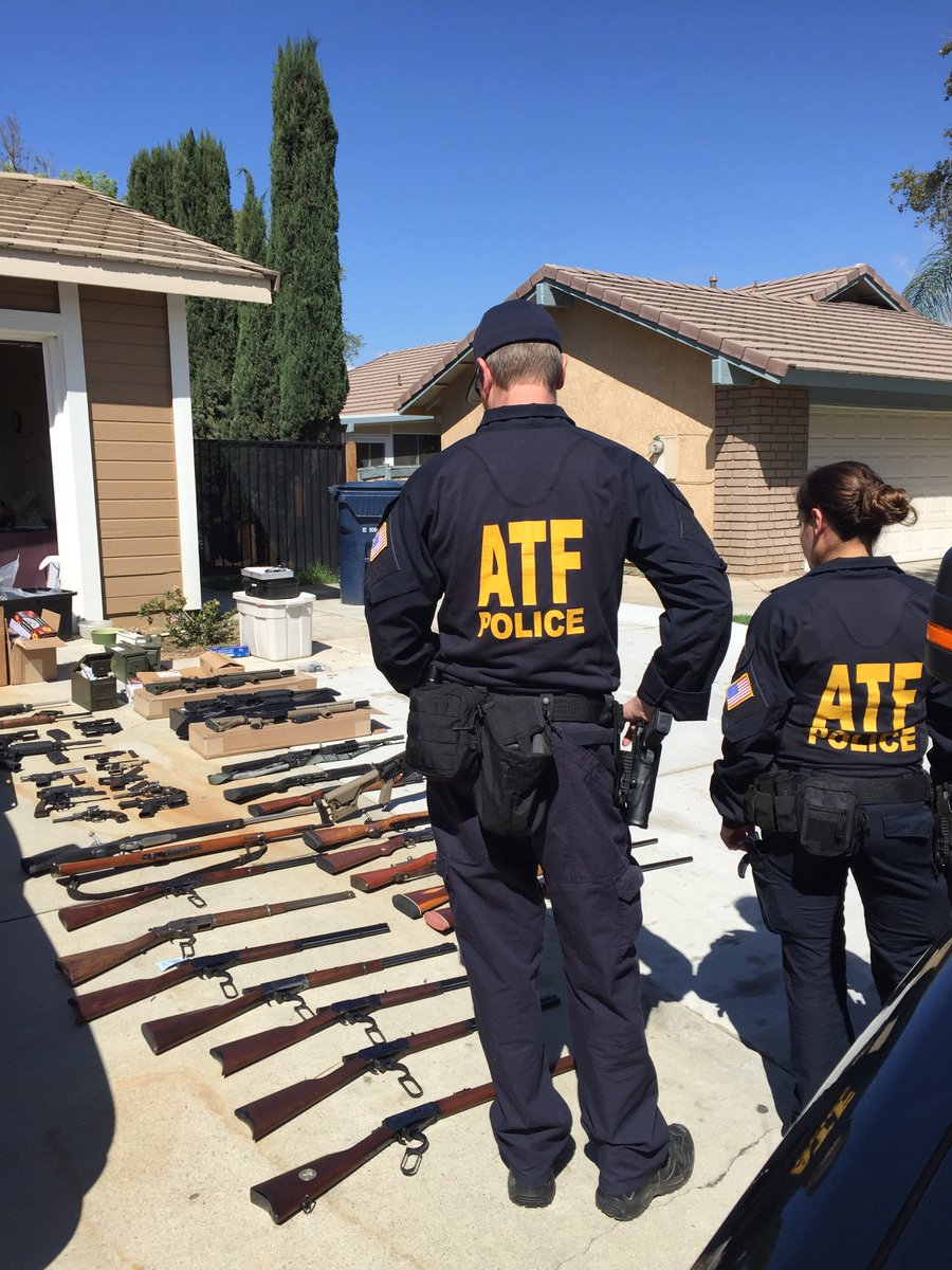 Agents reportedly recovered 40 firearms, including three machine guns, as well as eight suppressors, more than 100 high capacity magazines, ammunition, and other items from Coyl's residence. (Photo: ATF)