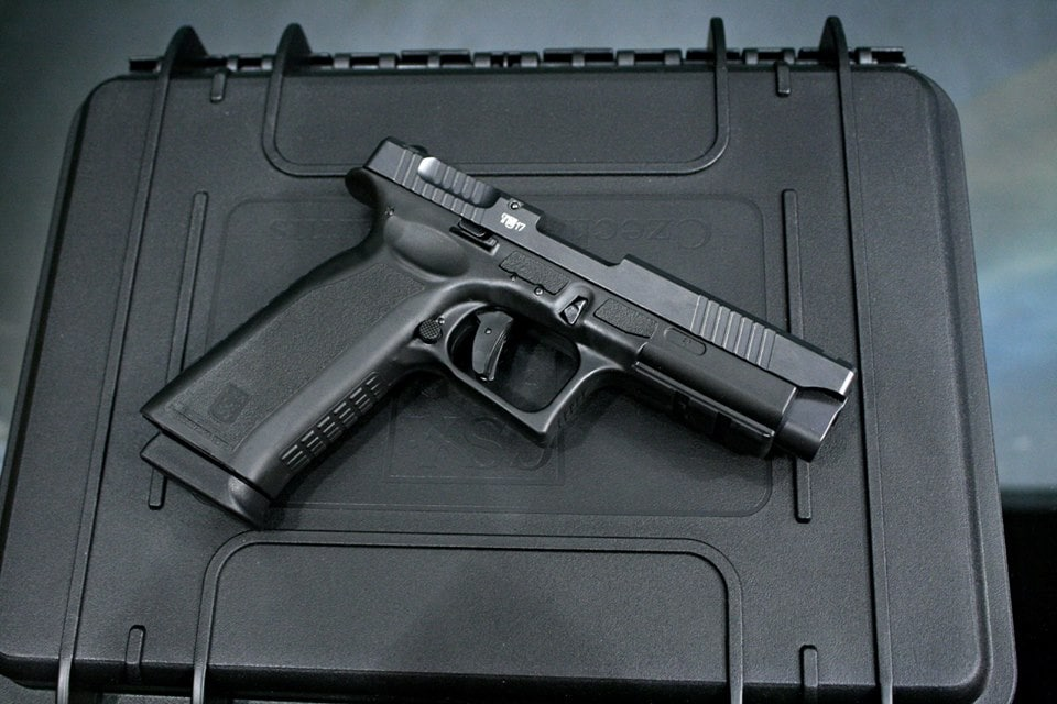 The Czech Small Arms Sa vz. 15 is an 18+1 9mm that takes Springfield XD mags (Photos: CzechPoint)