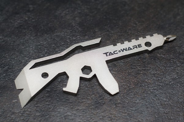 The ARti is packed witht tools and comes in a familiar outline. (Photo: TacWare via Indiegogo)