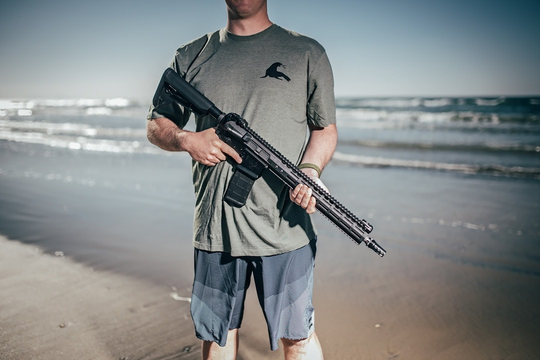 The Gen III OMW was designed alongside One More Wave, a non-profit aimed at helping wounded military vets recover through ocean therapy. (Photo: Noveske Rifleworks)