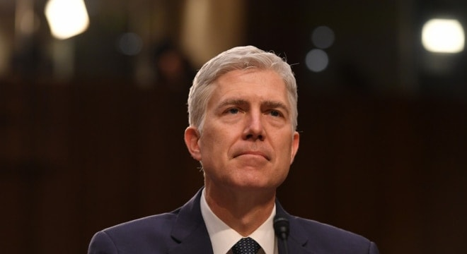Supreme Court nominee Neil Gorsuch during his third day of his confirmation hearing before the Senate Judiciary Committee on March 22. (Photo: Ricky Carioti/The Washington Post)