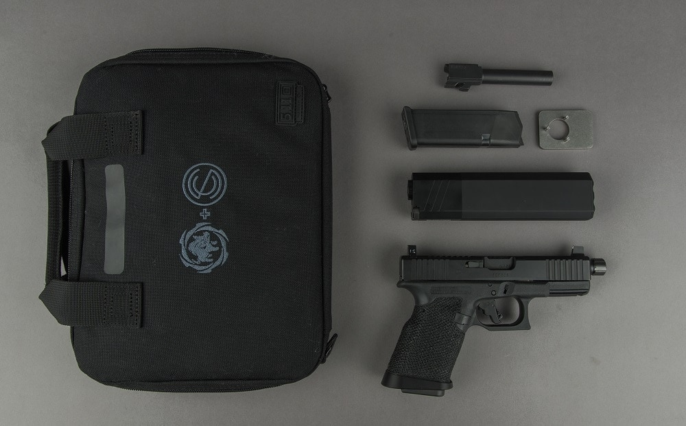 The whole thing comes in a custom 5.11 carrying case...