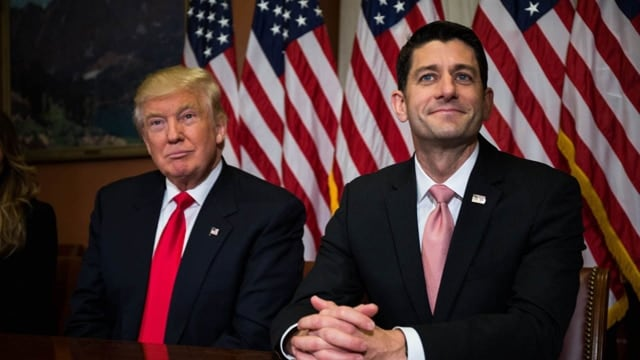 House Speaker Paul Ryan (R-WI) released the Republican replacement for Obamacare on March 6, 2017. (Photo: Zach Gibson/Getty Images)
