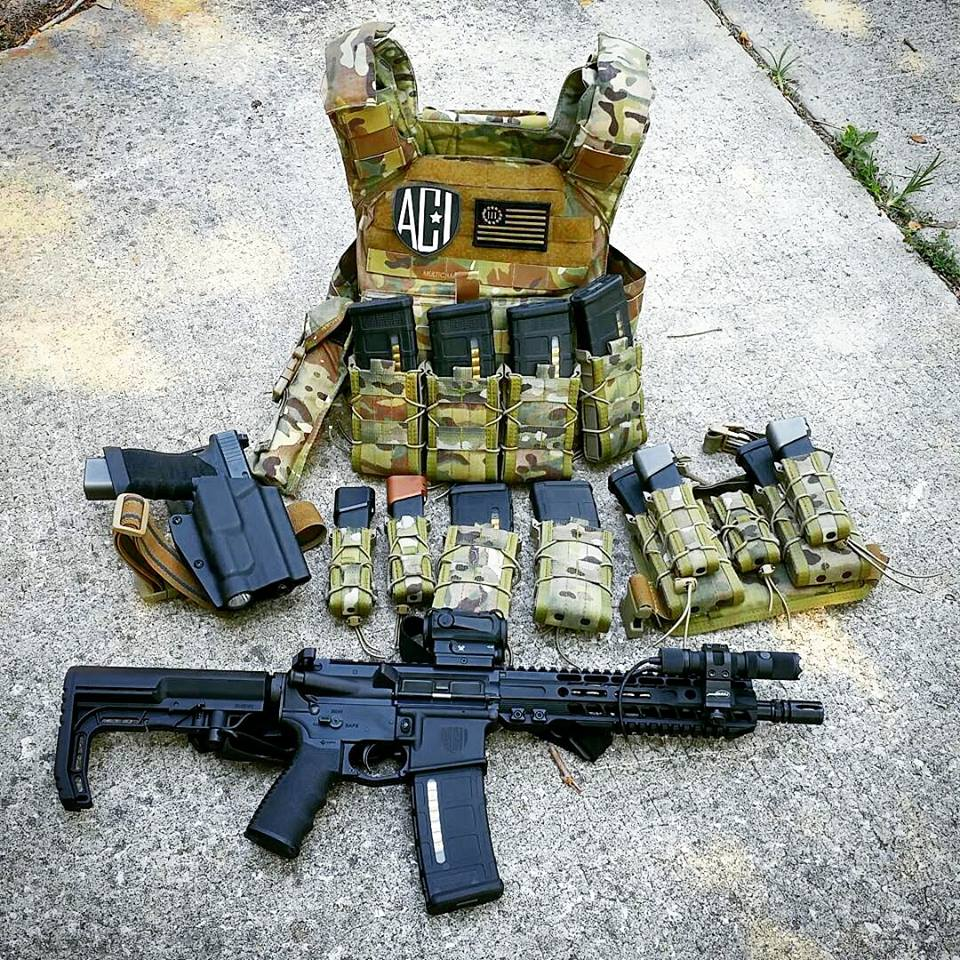 Let's face it, SBRs just look cool especially when paired with tactical goodies. (Photo: High Speed Gear via Facebook)
