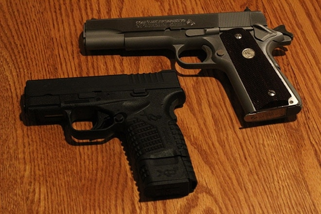 Gun Review: Concealed carry  45 ACP comparison — Springfield