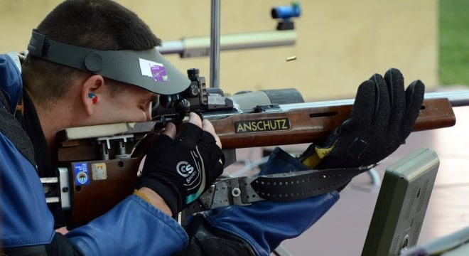 U.S. Army SFC Michael McPhail has competed in the past two Olympic games. He is ranked in the top 10 in the world in the 50m rifle prone and won 3 gold medals in international competition in 2015. (Photo: USA Sports)