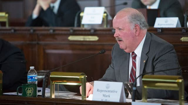 Pennsylvania State Rep. Mark Keller, R-Perry, participating in a House Transportation Committee Hearing on February 10, 2016. (Photo: RepKeller.com)