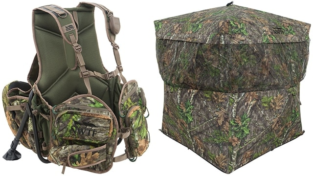 The Grand Slam Vest and Thicket Blind round out the new products. (Photo: Alps OutdoorZ)