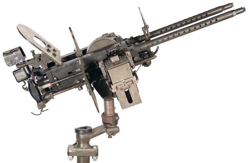 Navy AN-M2 .30 Cal Navy MK II Mod 3 Aircraft Mount MK 9 Mod 1 Illuminated Electronic Gun Sight RIA