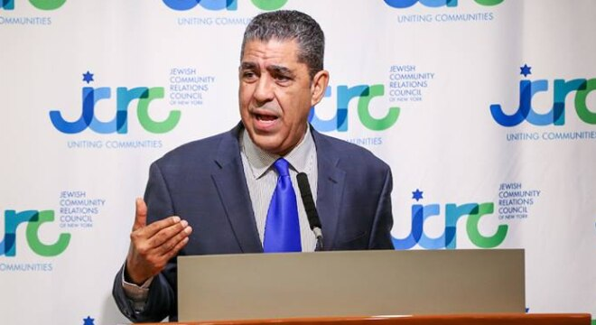 U.S. Rep. Adriano Espaillat, D-NY, shown speaking at an event in New York, is backing the Ghost Guns Are Guns Act (Photo: espaillat.house.gov)
