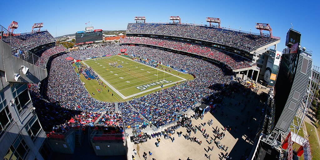 Guns are currently prohibited at Nissan Stadium in Nashville, home to the NFL's Tennessee Titans (Photo: Football Stadium Digest)