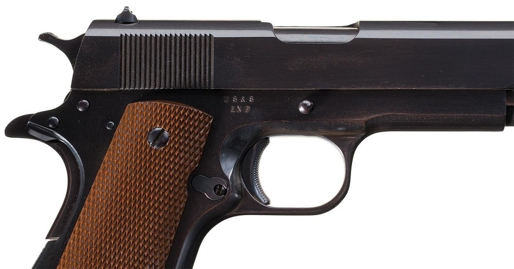 Rare and Desirable Documented Union Switch & Signal Company EXP Marked Model 1911A1 Pistol