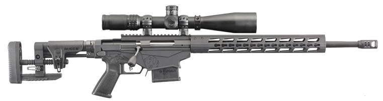 The new take on the Precision Rifle series offers shooters chambering in the popular 5.56 round. (Photo: Ruger)