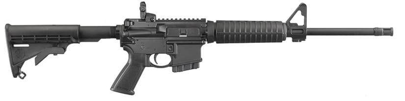 The state compliant AR-556 from Ruger offers a 10 round magazine, bringing the rifle into compliance in Maryland and Colorado. (Photo: Ruger)