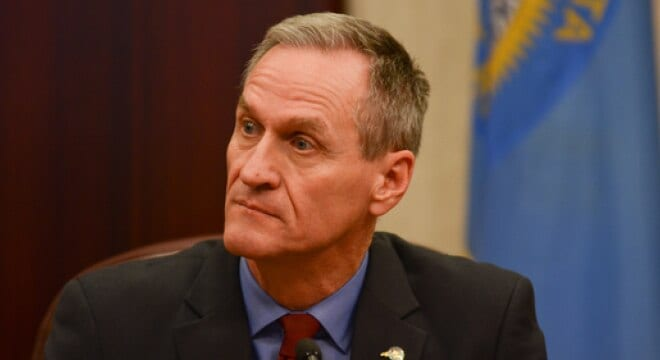 Gov. Dennis Daugaard says the measure sent to him this week is dangerous and he has promised a veto (Photo: South Dakota Public Broadcasting)