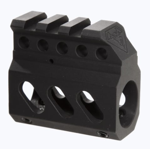 The Superlite Gas Block seeks to lighten the load on AR builds. (Photo: DoubleStar)