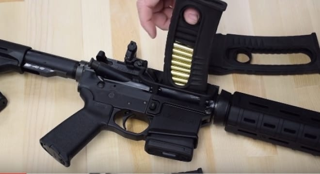The side-loading AR-15 stripper clip, because California (VIDEO)
