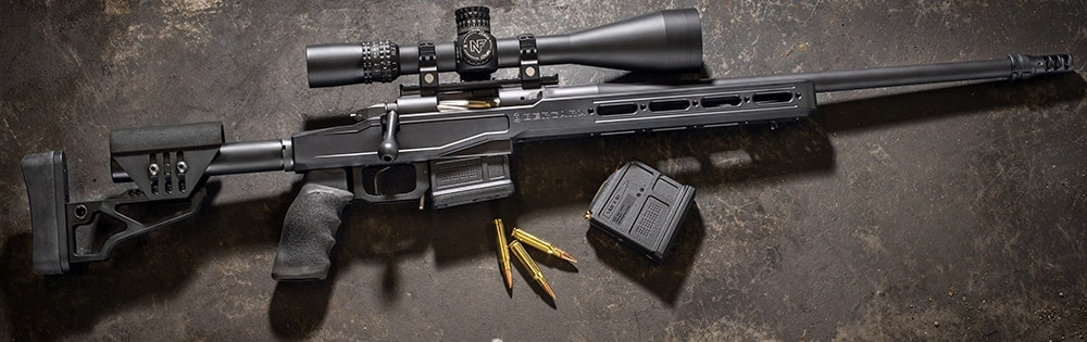 The Begara Premier LRP melds AR style with a bolt action rifle. (Photo: Begara Rifles)