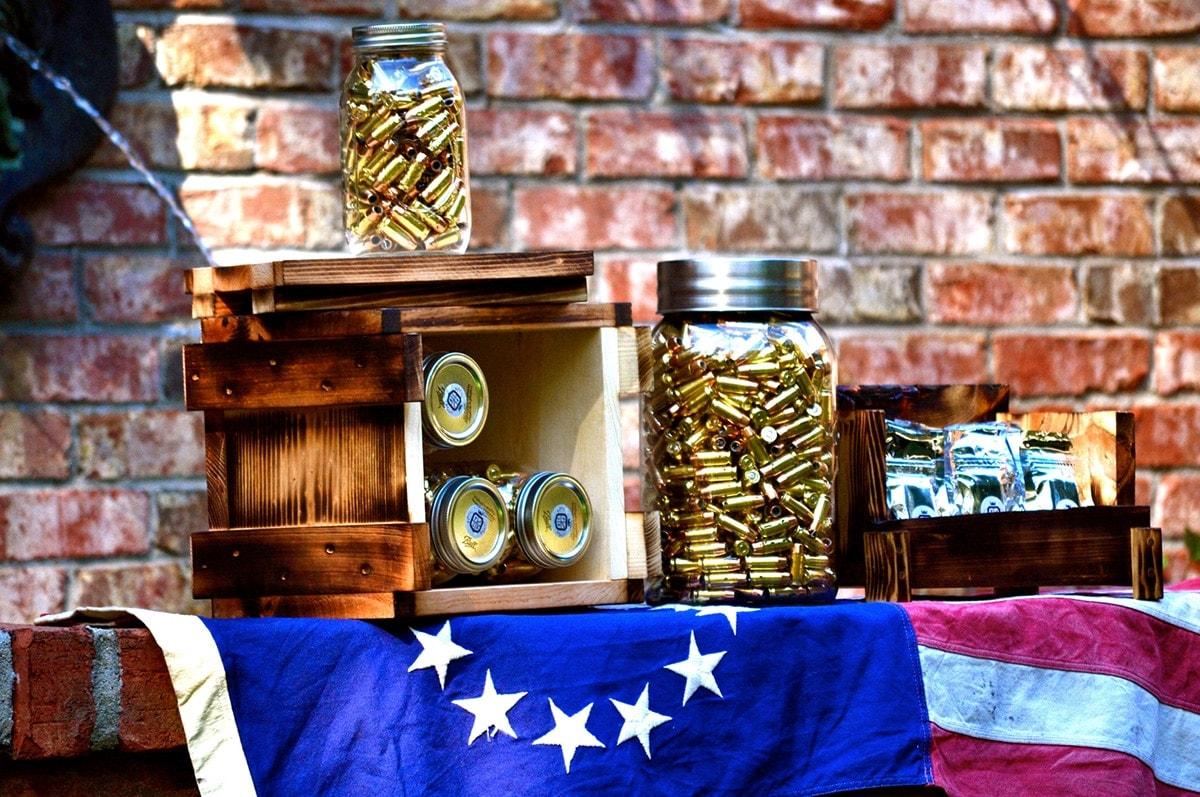The largest jar, the Shock and Awe, packs 1,200 rounds of FLAK ammunition. (Photo: Patriot Ballistics)
