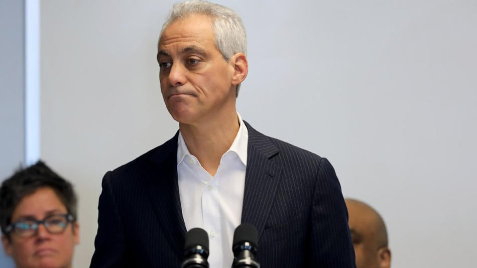 Chicago Mayor Rahm Emanuel speaks at the City of Chicago Public Safety headquarters on Feb. 27, 2017 (Photo: Chicago Tribune)