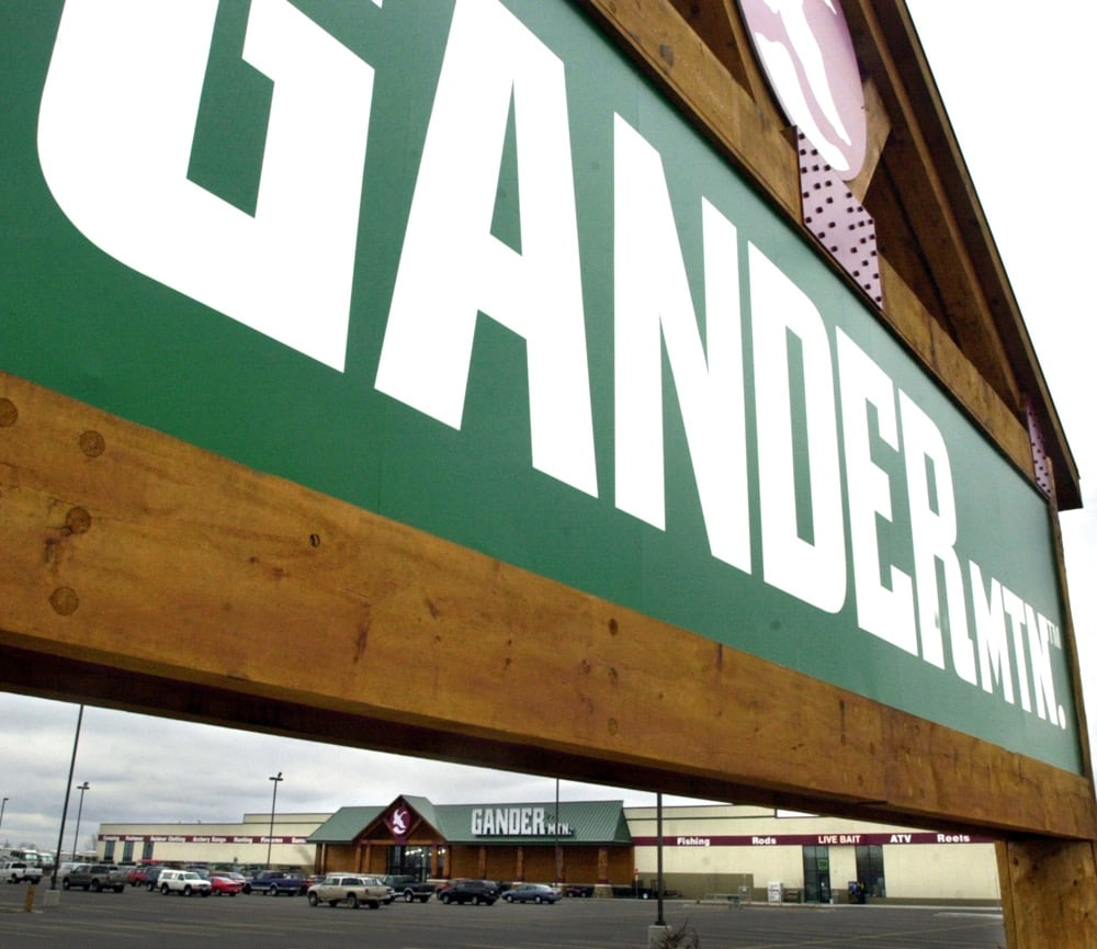 A Gander Mountain sign outside a Gander Mountain store. (Photo: Twin Cities Pioneer Press)