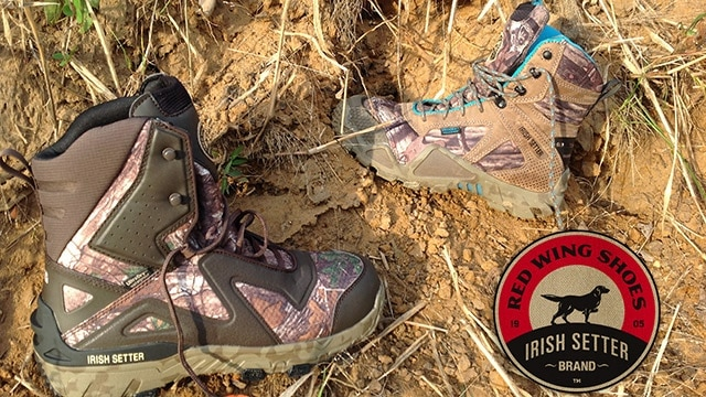 0c61de53fdf7 Gear Review  Irish Setter VaprTrek hunting boots for men and women
