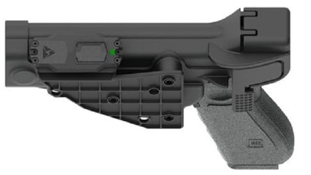 Axon Signal Sidearm (Photo: TASER)