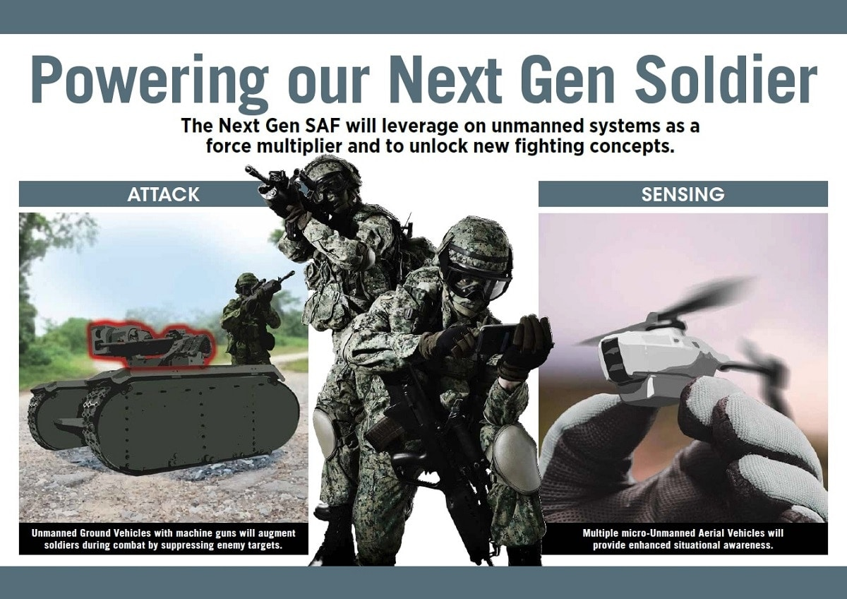 Graphic: Singapore Ministry of Defense