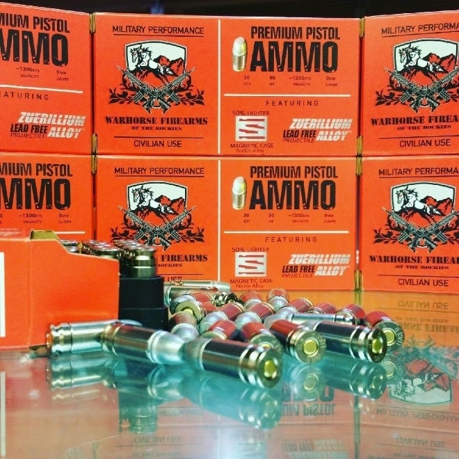 The new ammo pairs Warhorse of the Rockies with Shell Shock Technologies and Advanced Ballistic Concepts. (Photo: Shell Shock Technologies)