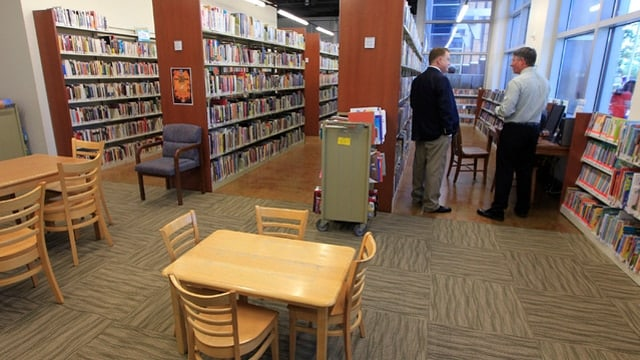 The North Las Vegas Library in City Hall in 2014 (Photo: Sam Morris/Las Vegas Review-Journal)