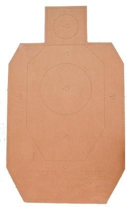 The new IDPA targets feature a 4-inch circle within the head box to push competitors during matches. (Photo: Comp-Tac Victory Gear)