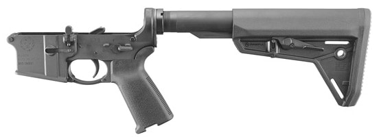 The lower is forged out of the same materials as Ruger's 556. (Photo: Ruger)