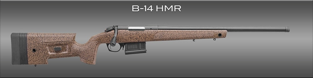 The Hunting and Match Rifle by Begara is one of two new styles. (Photo: Bergara)