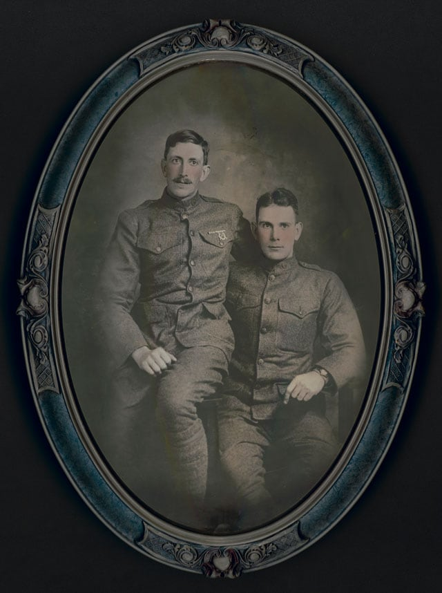 Brothers Paul (left) and Robert Rugh